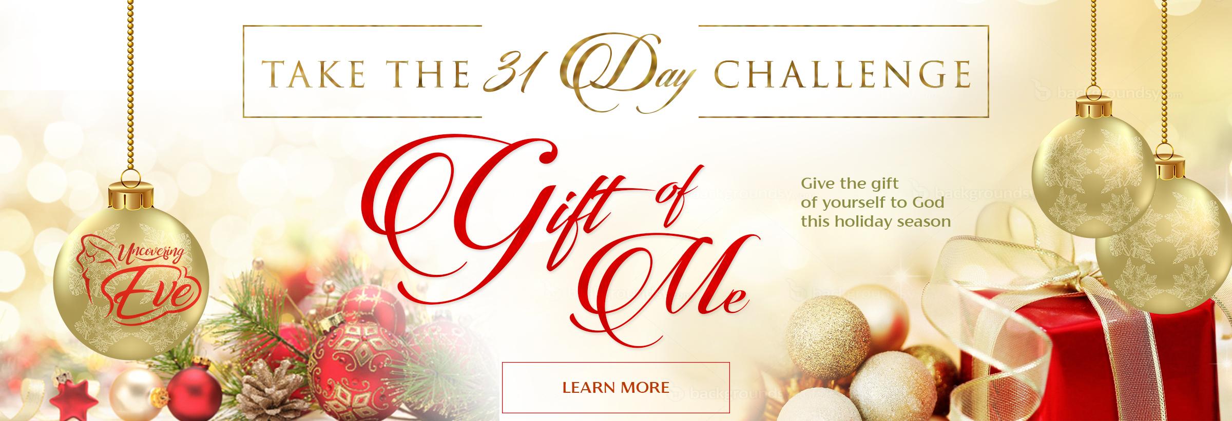 Take the Gift of Me Challenge